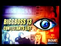 Bigg Boss Contestants List: Know who all are entering the house