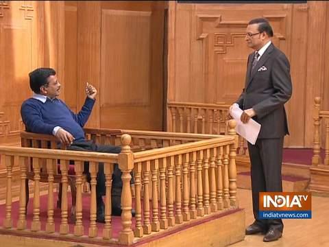 Kejriwal in Aap Ki Adalat: Health & Education in Delhi has improved, BJP is spreading lies