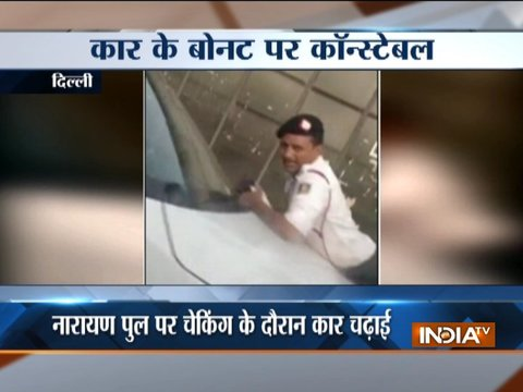Delhi man tries to run over traffic cop during checking