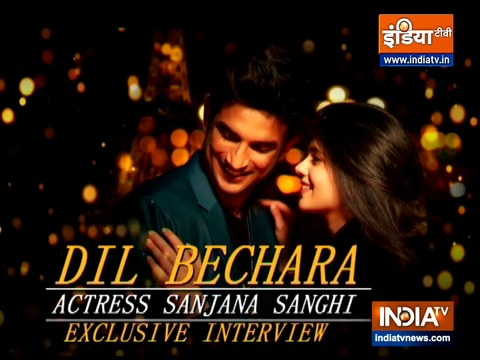 Dil Bechara: Sanjana Sanghi talks about happy moments spent with Sushant Singh Rajput