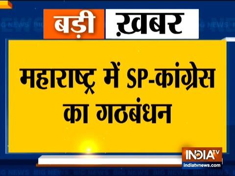 महाराष्ट्र में चुनाव लड़ने के लिए सपा-कांग्रेस ने किया गठबंधन