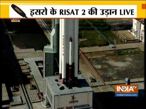 ISRO launches India's spy satellite RISAT-2BR1 from Shriharikota