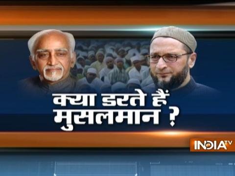 Outgoing VP Hamid Ansari's statement on Muslims sparks controversy