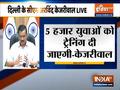 Delhi govt ambitious plan-to prepare 5000 health assistants: Kejriwal