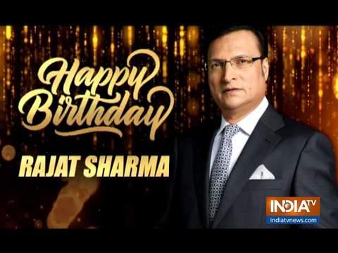 अपने जन्मदिन के मौके पर इंडिया टीवी के एडिटर इन चीफ रजत शर्मा ने बताया फिटनेस मंत्र