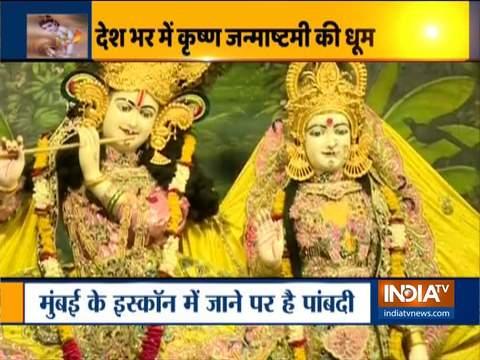 Priests celebrate Krishna Janmashtami at ISKCON Temple in several cities