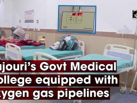 Rajouri's Govt Medical College equipped with oxygen gas pipelines