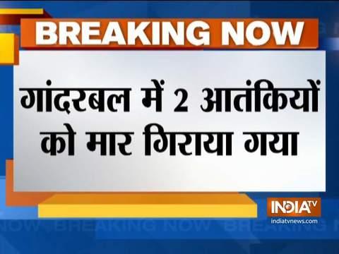गांदरबल के गुंड में सुरक्षाबलों के साथ मुठभेड़ में दो आतंकवादी मारे गए