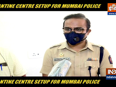 Mumbai Police sets up Covid-19 quarantine centres for cops