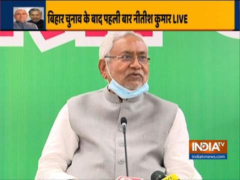 It is not decided yet when the oath ceremony will take place, says Bihar CM Nitish Kumar