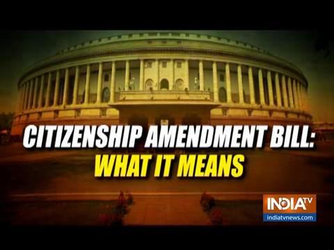 विस्तार से जानिए क्या है नागरिक संशोधन विधेयक?