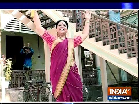 धनक और रघु की मम्मी के बीच हुआ क्रिकेट मैच