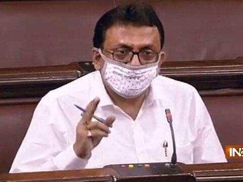 Trinamool Congress MP Santanu Sen has been suspended from the Rajya Sabha