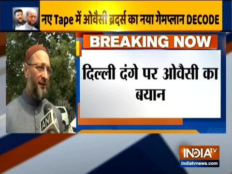 Delhi violence was planned: Asaduddin Owaisi