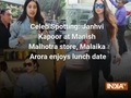 Celeb Spotting: Janhvi Kapoor at Manish Malhotra store, Malaika Arora enjoys lunch date