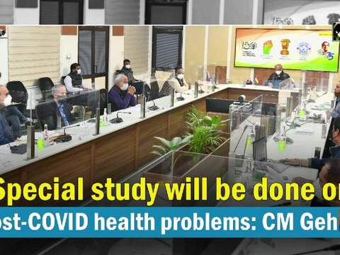 Special study will be done on post-COVID health problems: CM Gehlot