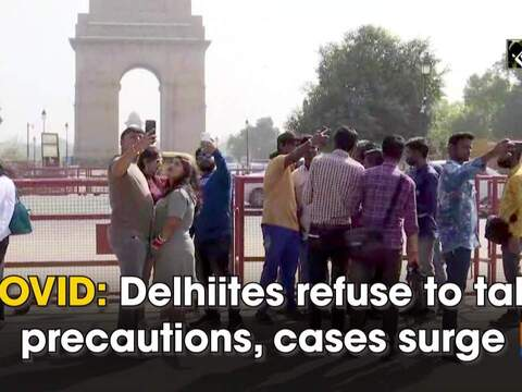 COVID: Delhiites refuse to follow precautions, cases surge