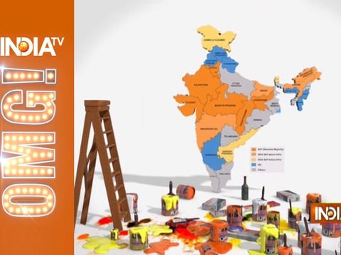 OMG: 77% India turns saffron