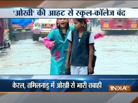 Cyclone Ockhi heads to Gujarat, Maharashtra; schools shut, high tide warning in Mumbai