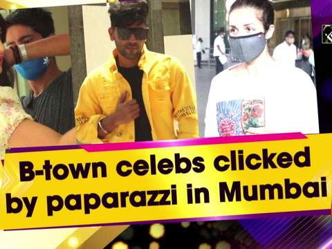B-town celebs clicked by paparazzi in Mumbai