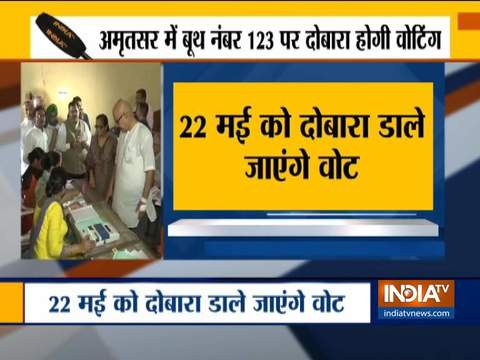 Lok Sabha Elections 2019: Re-Poll at one booth in Amritsar on May 22