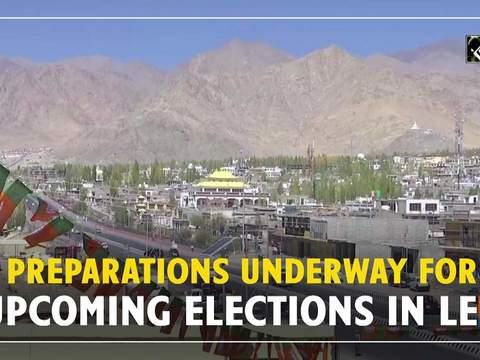 Preparations underway for upcoming elections in Leh