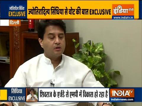 ज्योतिरादित्य सिंधिया से इंडिया टीवी की खास बातचीत