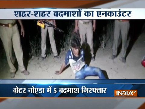 5 held after encounter with police in Greater Noida