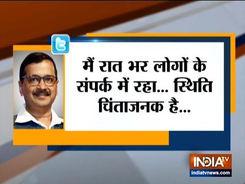 सीएम केजरीवाल ने केंद्र से दिल्ली के हिंसा प्रभावित इलाकों में सेना तैनाती का किया आग्रह