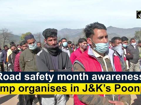 Road safety month awareness camp organises in J&K's Poonch
