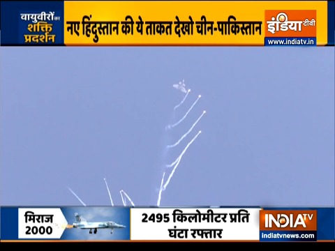 Rafale jet joins other fighter planes to celebrate Indian Air Force Day at Hindon Air Base