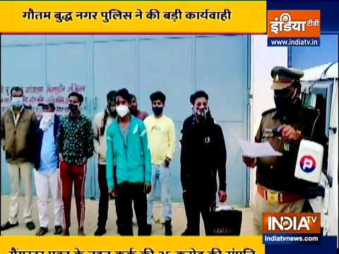 UP Police seizes Sundar Bhati gang member's property worth Rs 25 crore under Gangster Act