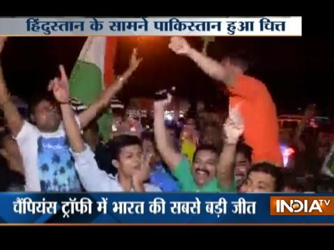 Champions Trophy 2017: Fans celebrate as India thrash Pak in its opening game at Birmingham