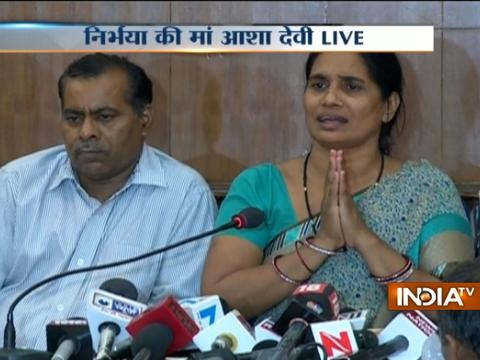We want to thank the whole nation for supporting us throughout the case, says Nirbhaya's Parents