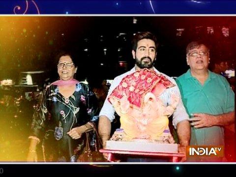 Exclusive Ganesh Chaturthi celebration with stars