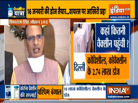 MP CM Shivraj Singh Chouhan on covid vaccination plan