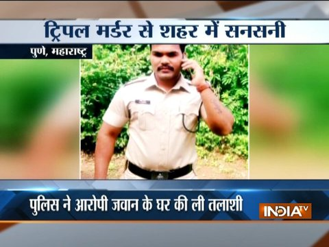 India Reserve Battalion officer kills three people in Maharashtra