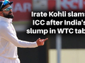 If rules change during lockdown, nothing is in your control: Virat Kohli defends India's slump in WTC table