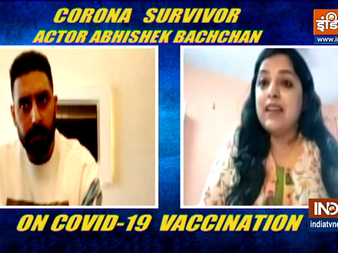 With huge spike in Corona cases, Actor Abhishek Bachchan appeal people to follow Covid norms
