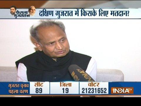 Gujarat Elections 2017: Ashok Gehlot hits out at PM Modi