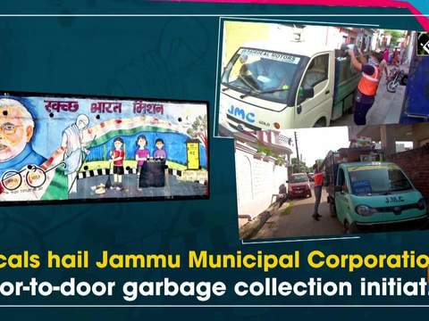 Locals hail Jammu Municipal Corporation's door-to-door garbage collection initiative