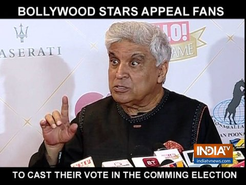 बॉलीवुड के दिग्गजों ने की लोगों से चुनाव में वोट करने की अपील