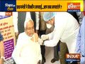 Nitish Kumar took his first dose of COVID-19 Vaccine today