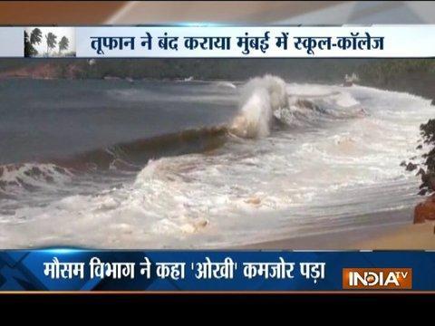 Maharashtra govt shuts schools, colleges as Cyclone Ockhi threat looms