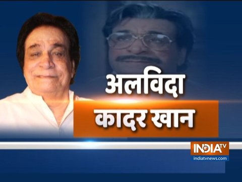 Remembering Kader Khan: Glimpse of his bollywood journey