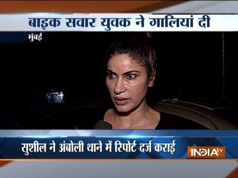 मुंबई में एक बार फिर टीवी एक्ट्रेस हुई रोड रेज की शिकार, सुशील जान्गिरा ने अम्बोली थाने में शिकायत दर्ज कराई