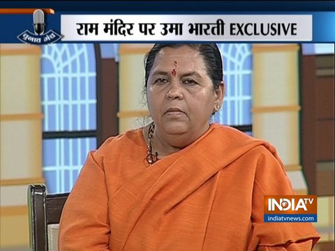 Exclusive: Advani not greedy of PM position, says Uma Bharti at Chunav Manch