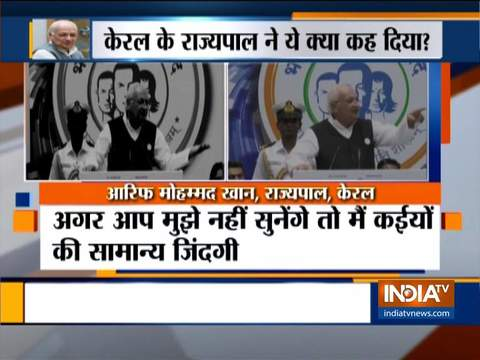 केरल के गवर्नर के गवर्नर ने कहा कि विरोध में सड़कों पर बैठना आतंकवाद का एक रूप है