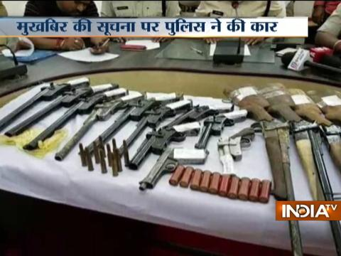 Two held with illegal arms in Madhya Pradesh