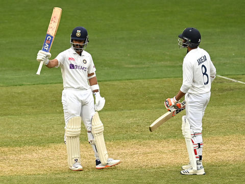 AUS vs IND 2nd Test: Stand-in captain Rahane ticks all the boxes with gritty fifty in Melbourne